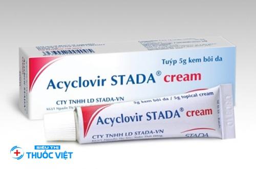 Chuyên gia hướng dẫn cách sử dụng thuốc da liễu Acyclovir Stada?