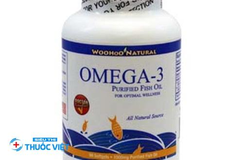Thuốc tim mạch omega 3 Fish Oil 1000mg