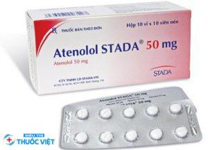 Hướng dẫn sử thuốc Atenolol điều trị rối loạn nhịp tim