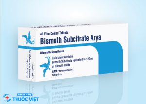 Tổng quan về thuốc Bismuth điều trị bệnh đau dạ dày