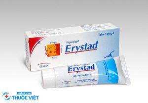 Tổng quan về thuốc trị mụn Erystad