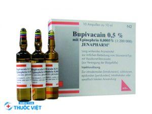 Thuốc gây tê Bupivacain được sử dụng trong lĩnh vực y học