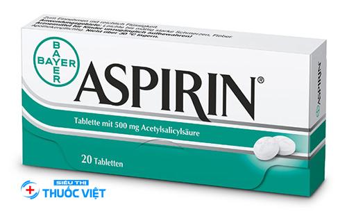 Thuốc giảm đau Aspirin và cách sử dụng hiệu quả