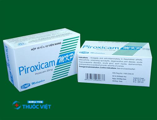 Những lưu ý khi sử dụng thuốcPiroxicam