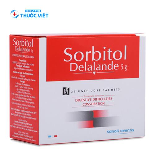 Điều trị táo bón và khó tiêu bằng thuốc Sorbitol