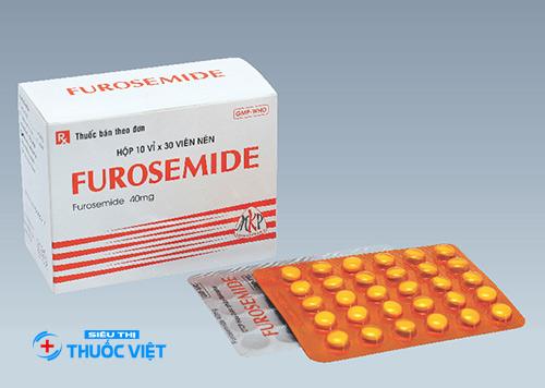 Sử dụng thuốc lợi tiểu Furosemide có an toàn hay không?