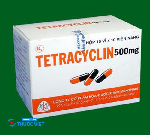 Thận trọng khi sử dụng thuốc kháng sinh Tetracyclin