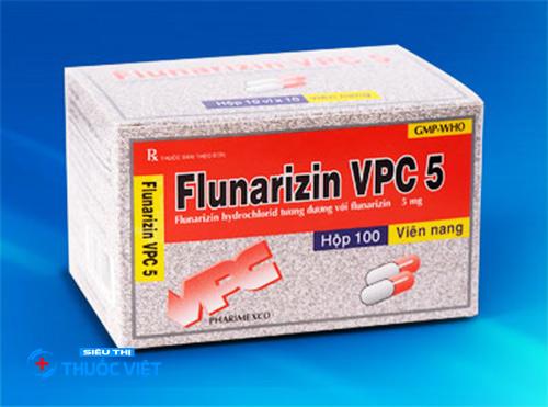 Tác dụng của thuốc Flunarizin khi điều trị đau nửa đầu