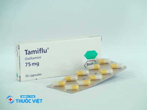 Tamiflu (Oseltamivir) 75mg trị bệnh cúm