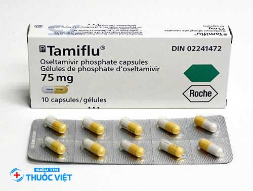 Tamiflu là một loại thuốc kháng virus chứa oseltamivir