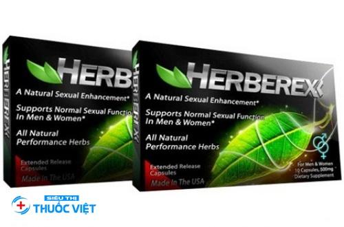 Herberex tăng cường bản lĩnh đàn ông