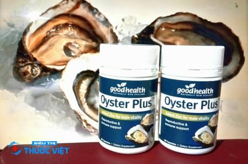 Thần dược Oyster Plus Goodhealth cho chuyện phòng the của nam giới