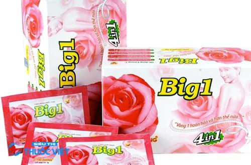 Big 1 giúp cải thiện vòng 1 cho phái đẹp