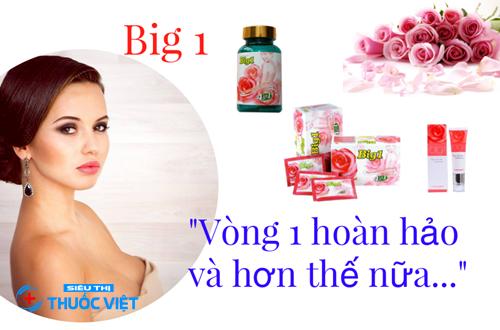 Đối tượng sử dụng viên uống nở ngực Big 1