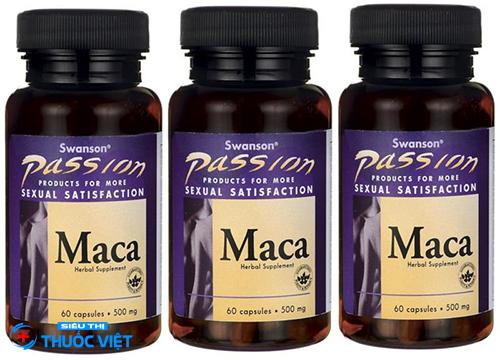 Dược lực Maca giúp bổ thận tráng dương cho nam giới