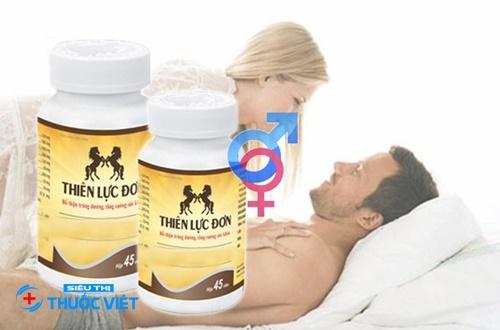 Tăng cường sinh lý nam giới nhờ Thiên lực đơn