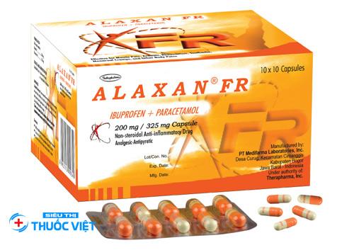 Tìm hiểu về thuốc điều trị giảm đau hạ sốt Alaxan