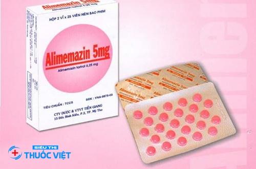 Hướng dẫn sử dụng thuốc Alimemazin