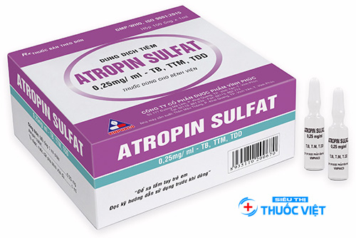 Cách sử dụng thuốc Atropin hiệu quả