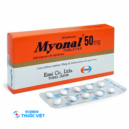 Những lưu ý khi sử dụng thuốc Myonal