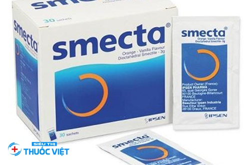 Thuốc Smecta điều trị tiêu chảy hiệu quả