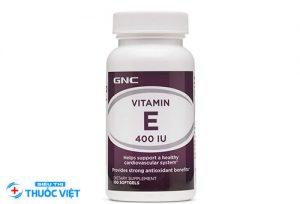 Sử dụng vitamin E nên có sự chỉ định của bác sĩ