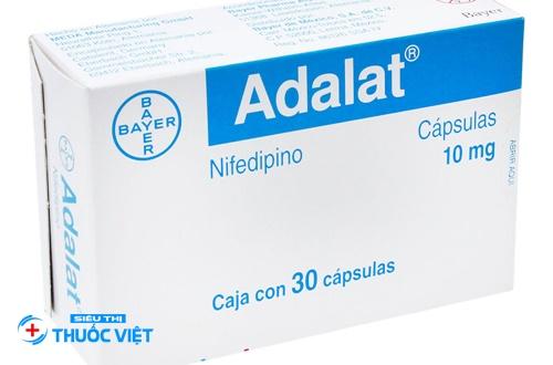 Cẩn trọng trong dùng thuốc Adalat điều trị tăng huyết áp