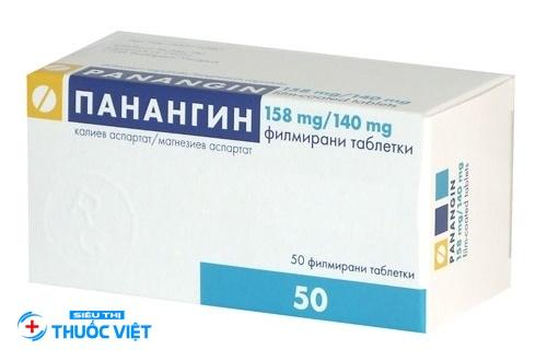 Liều lượng và cách dùng thuốc Panangin