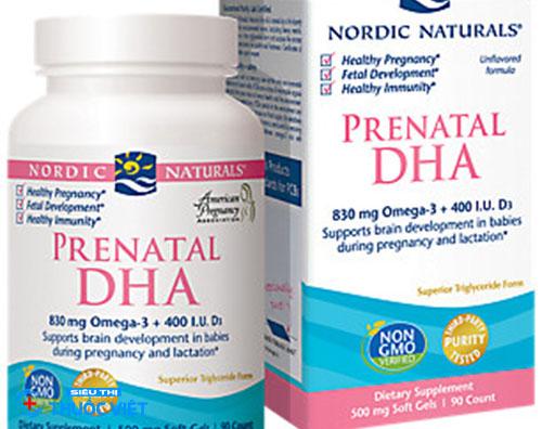 Pre DHA bổ sung vitamin khoáng chất cần thiết cho mẹ bầu