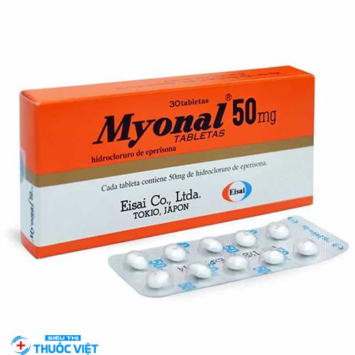 Thuốc Myonal 50mg – thành phần và cơ chế tác dụng