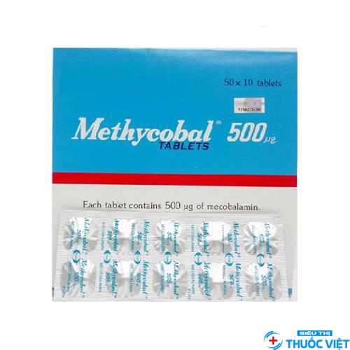 Tác dụng của thuốc Mecobalamin