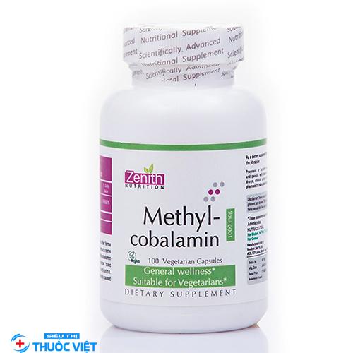 Methylcobalamin là thuốc gì? Có tác dụng như thế nào?
