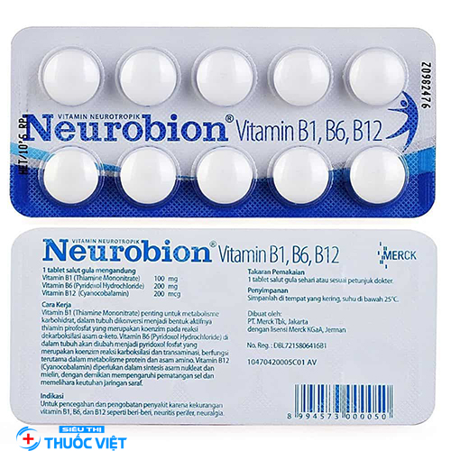 Neurobion là thuốc gì? Cách dùng như thế nào?