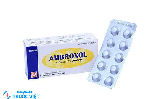 Liều lượng và cách sử dụng thuốc Ambroxol