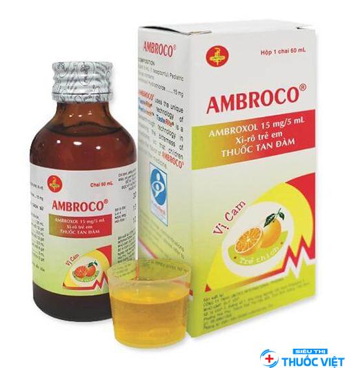 Cùng tìm hiểu thuốc ambroxol trị bệnh ho long đờm