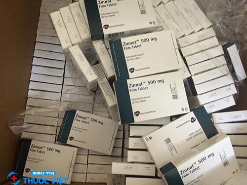 Khi nào cần sử dụng thuốc kháng sinh Zinnat 500mg?