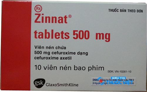 Thuốc Zinnat giả gây hại sức khỏe ra sao?