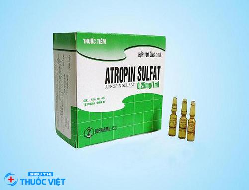 Những đề phòng cần lưu ý khi sử dụng atropin