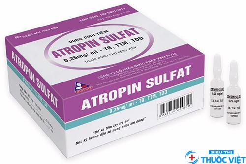 Tác dụng của atropine là gì?