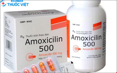 Cần lưu ý khi sử dụng thuốc kháng sinh amoxicillin