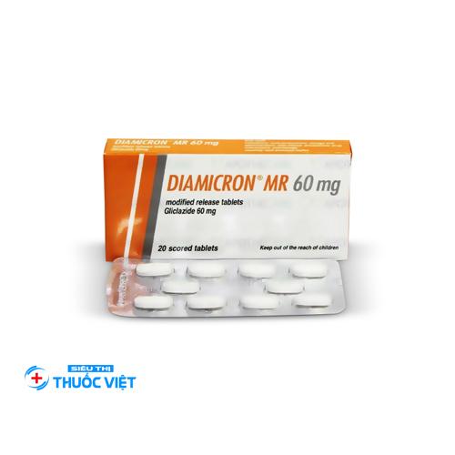 Những thông tin cần biết về thuốcDiamicron MR