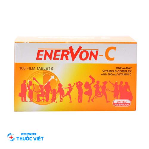 Tìm hiểu về thuốcEnervon-C