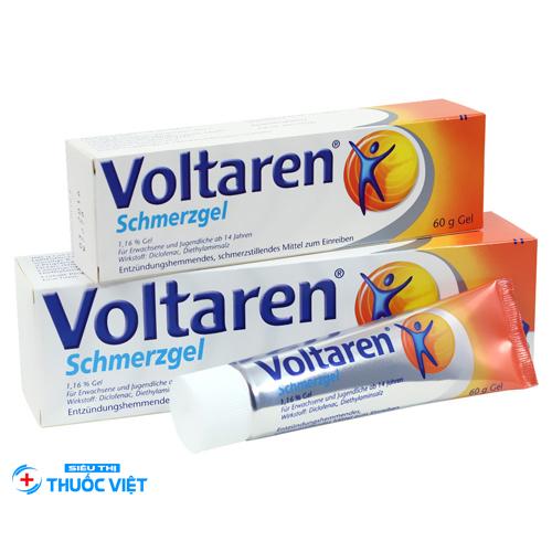 Voltaren được bào chế dưới nhiều dạng khác nhau như tiêm, uống, bôi