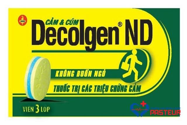 Sử dụng Decolgen cần lưu ý tác dụng phụ nào?