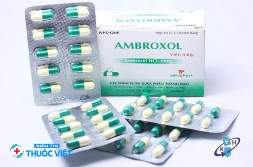 Thuốc hô hấp Ambroxol có tác dụng như thế nào đến cơ thể?