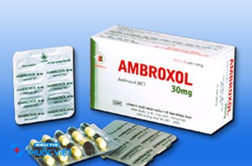 Thuốc hô hấp Ambroxol là gì và tác dụng ra sao?