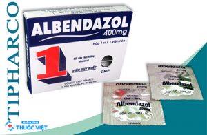 Thuốc Albendazol điều trị kí sinh trùng đường ruột