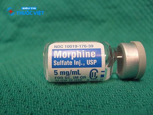 Thuốc Morphin sulfat dạng tiêm