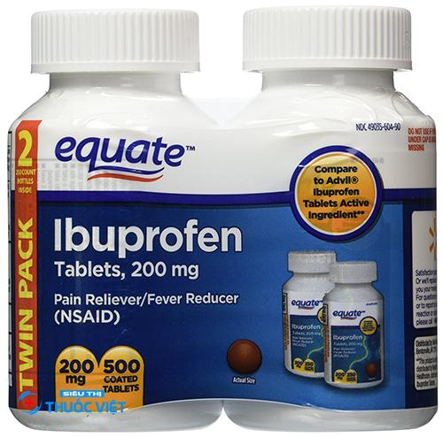 Cách sử dụng thuốc Ibuprofen để điều trị bệnh