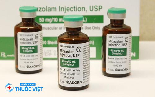 Cách sử dụng thuốc Midazolam